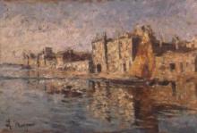Leonardo Bazzaro, Spiaggia in sole, Chioggia