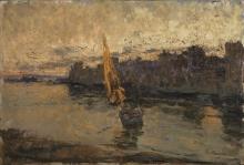 Leonardo Bazzaro, Tramonto a Venezia