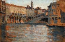 Leonardo Bazzaro, Veduta di Venezia