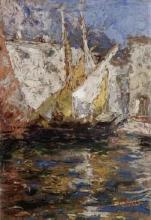 Leonardo Bazzaro, Vele a Chioggia