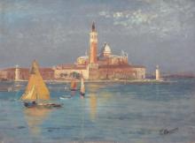 Leonardo Bazzaro, Venezia, isola di San Giorgio