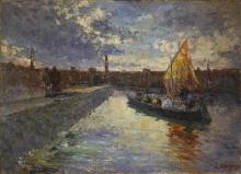 Leonardo Bazzaro, Verso il porto