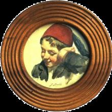 Bechi, Fanciullo con fez | Boy with fez