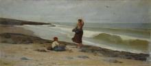 Bechi, Figure sulla spiaggia.jpg