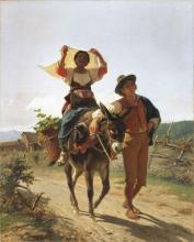 Luigi Bechi, In cammino verso il mercato