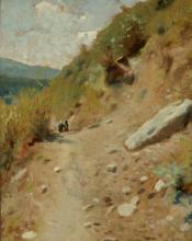 Luigi Bechi, Paesaggio di montagna