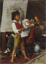 Bechi, Piccoli modelli nello studio del pittore.jpg