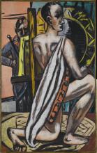 Max Beckmann, Accademia I | Akademie I