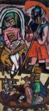 Max Beckmann, Acrobati [pannello di destra]