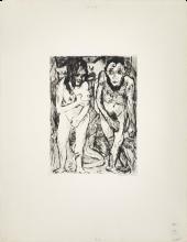 Max Beckmann, Adamo ed Eva | Adam und Eva | Adam and Eve [1917]
