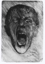Max Beckmann, Autoritratto   Selbstbildnis   Self portrait (1901)