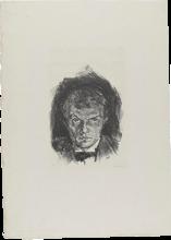 Max Beckmann, Autoritratto | Selbstbildnis | Self portrait [1911]