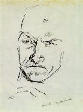 Max Beckmann, Autoritratto | Selbstbildnis [1915]