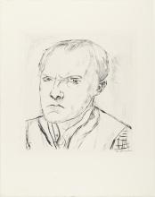 Max Beckmann, Autoritratto [1918]