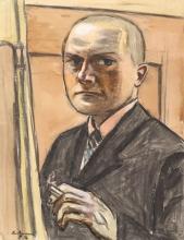 Max Beckmann, Autoritratto | Selbstbildnis | Self portrait [1932]