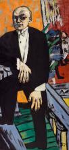 Max Beckmann, Autoritratto | Selbstbildnis | Self portrait [1937]