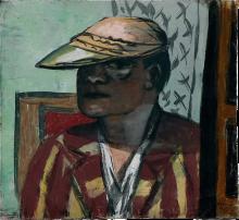 Max Beckmann, Autoritratto | Selbstbildnis | Self portrait [1938]