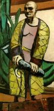 Max Beckmann, Autoritratto con sassofono | Selbstbildnis mit Saxophon