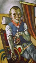 Max Beckmann, Autoritratto da clown | Selbstbildnis als Clown | Self portrait as a clown