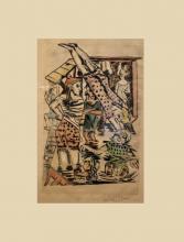 Max Beckmann, Bagnanti   Badende   Bathers [1922]