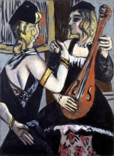 Max Beckmann, Ballerine in nero e giallo | Tänzerinnen in Schwarz und Gelb | Dancers in black and yellow