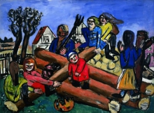Max Beckmann, Bambini che giocano | Spielende Kinder | Children playing