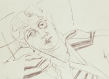 Max Beckmann, Beckmann, Ritratto di LIly von Schnitzler
