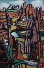Max Beckmann, Boulder, paesaggio roccioso | Boulder – Rocky landscape