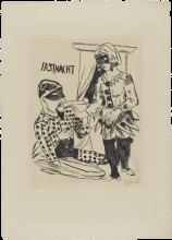 Max Beckmann, Carnevale | Fastnacht [1922]