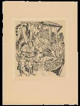 Max Beckmann, Carosello (Jahrmarkt, 7:10)