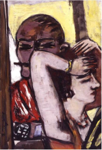 Max Beckmann, Coppia alla finestra | Paar am Fenster | Couple by the window