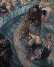 Max Beckmann, Corridore che cade | Sturzender Rennfahrer | Falling racer
