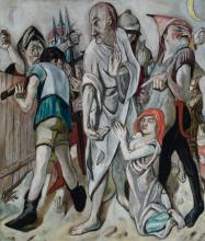 Max Beckmann, Cristo e la peccatrice | Christ and the sinner