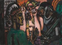 Max Beckmann, Cristo nel limbo | Christ in Limbo