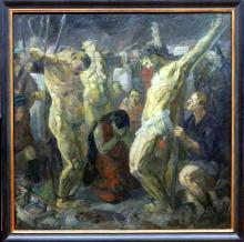 Max Beckmann, Crocifissione | Kreuzigung | Crucifixion