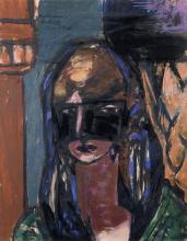 Max Beckmann, Donna con maschera | Frau mit Maske | Woman with mask