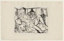 Max Beckmann, Donna di notte | Frau in der Nacht | Woman at night