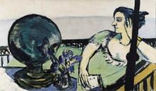 Max Beckmann, Donna meditabonda al mare | Sinnende Frau am Meer