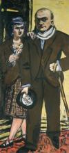 Max Beckmann, Doppio ritratto. Max e Mathilde Beckmann | Doppelbildnis. Max und Mathilde Beckmann | Double portrait. Max and Mathilde Beckmann