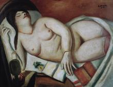 Max Beckmann, Dormiente   Schlafende
