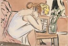 Max Beckmann, Due ragazze che leggono | Zwei lesende Mädchen