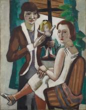 Max Beckmann, Due signore alla finestra | Zwei Damen am Fenster