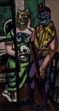 Max Beckmann, Festa in maschera | Masquerade