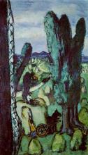 Max Beckmann, Fienagione | Heuernte | Hay harvest
