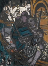 Max Beckmann, Figli del crepuscolo - Orco | Kinder des Zwielichts - Orkus | Children of the twilight - Orcus