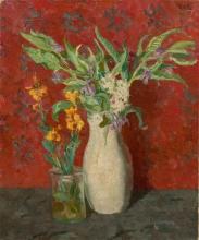 Max Beckmann, Fiori di palude | Sumpfblumen | Swamp flowers