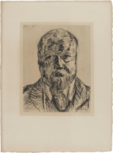 Max Beckmann, Geheimrat Dr. Carl Robert (1850-1922)