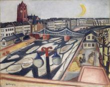 Max Beckmann, Ghiaccio alla deriva sul fiume | Eisgang | Ice on the river