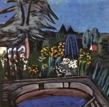 Max Beckmann, Giardino fiorito | Blühender Garten | Blossoming garden