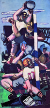 Max Beckmann, Giocatori di rugby | Rugbyspieler | Rugby players